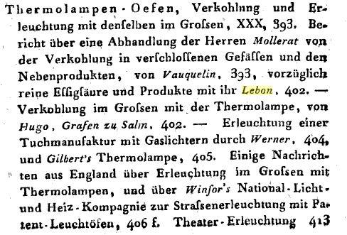 Annalen Inhalt 1808