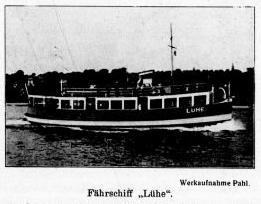 Fährschiff Lühe Außen