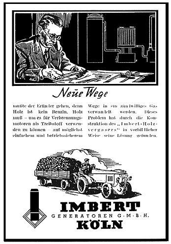 Anzeige der Firma Imbert 1942
