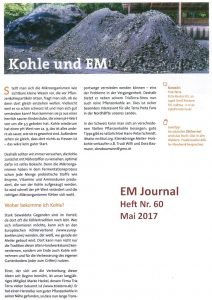 Kohle und EM preview EM Journal