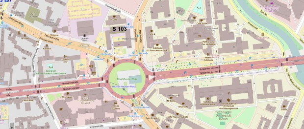OpenSteetmap S 103