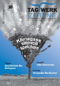 Titelblatt Tagwerk Zeitung Winter 2013