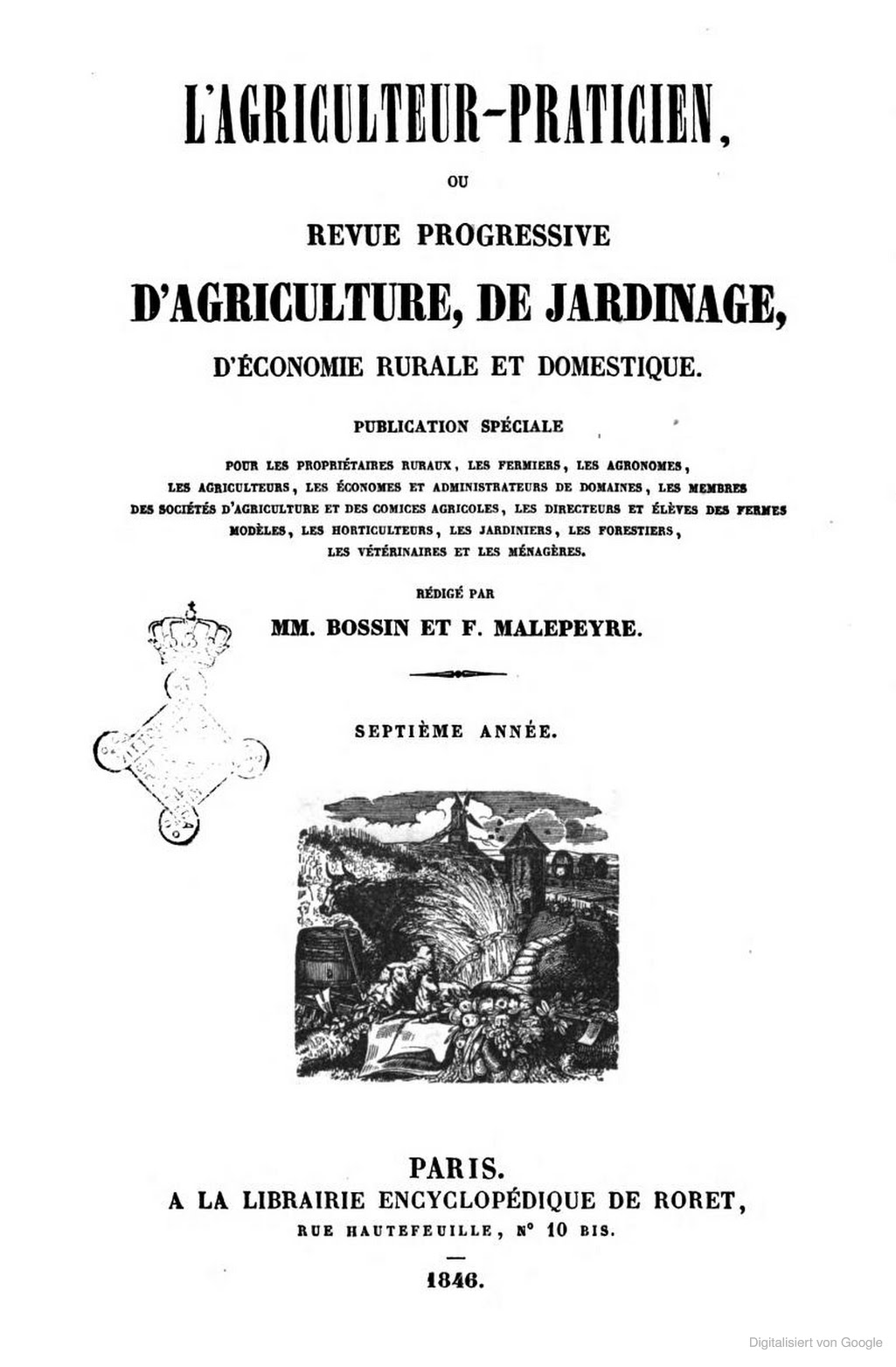 titel agri 1846